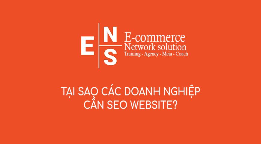 Tại sao các doanh nghiệp cần SEO website?